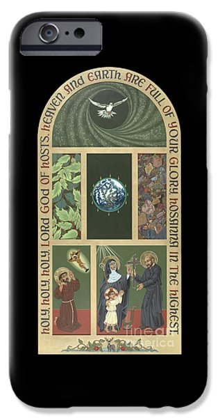 Viriditas - Finding God In All Things IPhone Case by William Hart McNichols