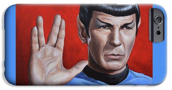 Vulcan Farewell IPhone Case by Kim Lockman