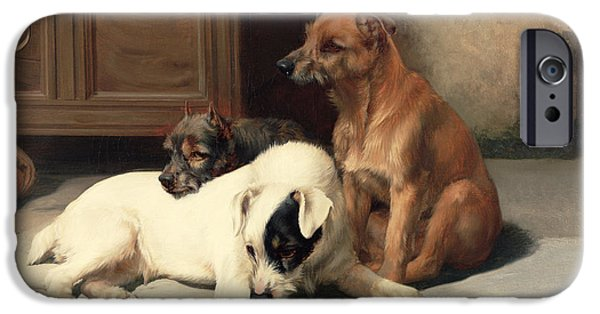 Waiting For Master IPhone 6s Case by William Henry Hamilton Trood