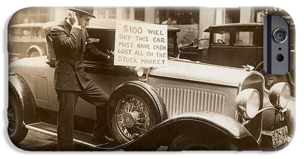 Wall Street Crash, 1929 IPhone Case by Granger
