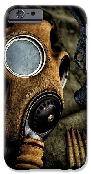 War Memorabilia IPhone Case by Adrian Evans