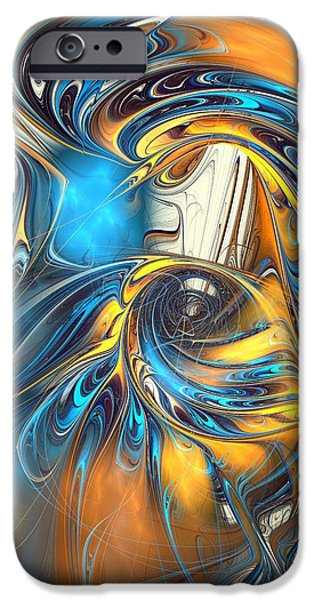 Warp Drive  IPhone Case by Anastasiya Malakhova
