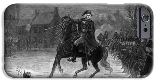 Washington At The Battle Of Trenton IPhone 6s Case by War Is Hell Store