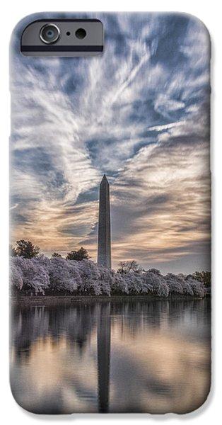 Washington Blossom Sunrise IPhone 6s Case by Erika Fawcett