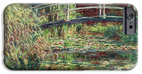 Waterlily Pond IPhone Case by Claude Monet