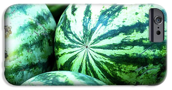 Watermelon Love IPhone Case by Teri Virbickis
