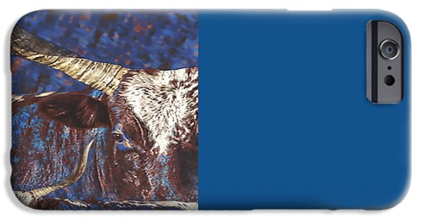 Watoosie Blues IPhone Case by Amanda Smith