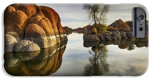 Watson Lake Arizona 12 IPhone Case by Bob Christopher