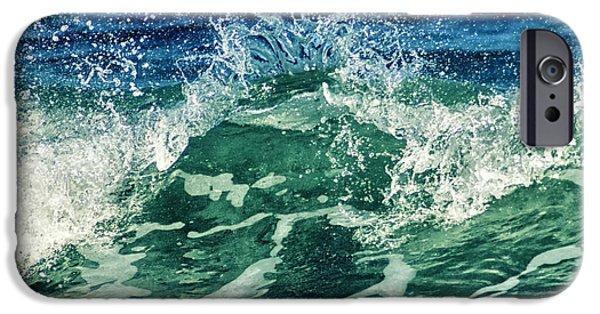 Wave3 IPhone Case by Stelios Kleanthous
