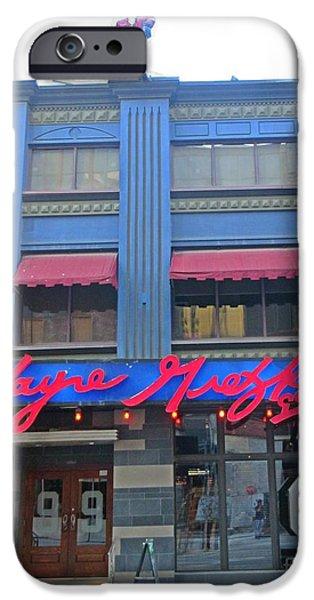 Wayne Gretzky Sports Bar In Toronto  IPhone Case by John Malone