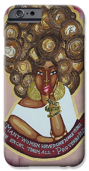 We Excel Them All IPhone Case by Aliya Michelle