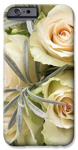 Wedding Flowers IPhone Case by Wim Lanclus
