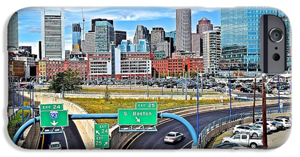 Welcome To Boston IPhone Case by Frozen in Time Fine Art Photography