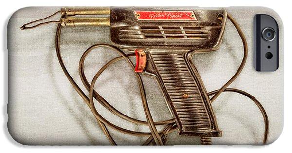 Weller Expert Soldering Gun IPhone Case by YoPedro