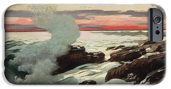 West Point Prouts Neck IPhone Case by Winslow Homer