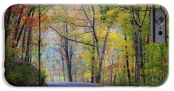 West Virginia Country Road IPhone Case by Teresa Mucha