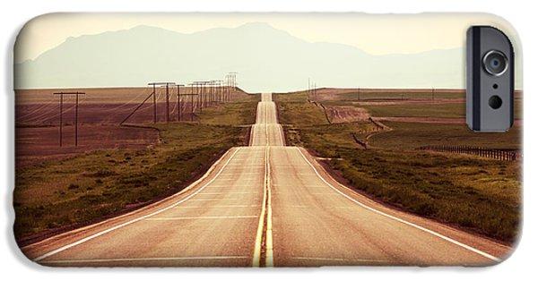 Western Road IPhone Case by Todd Klassy