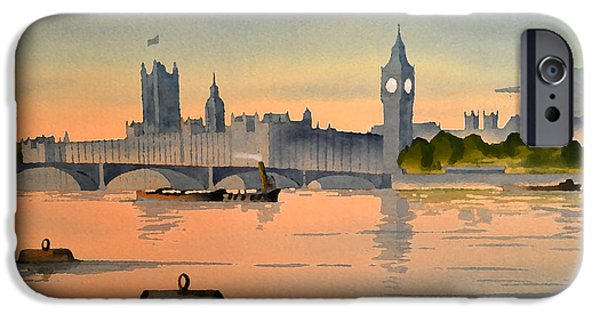 Westminster And Big Ben 1 IPhone 6s Case by Bill Holkham