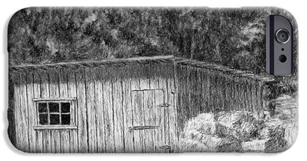 Wheeler Farm Shed IPhone Case by David King