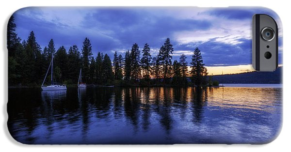 Where Are The Ducks? IPhone Case by Chad Dutson
