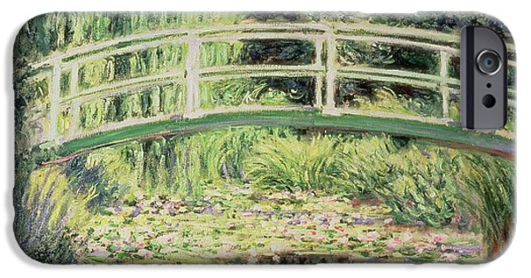 White Nenuphars IPhone Case by Claude Monet