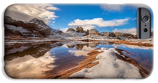 White Pocket Northern Arizona IPhone Case by Larry Marshall