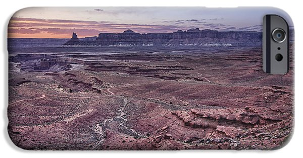 White Rim Trail Vista IPhone Case by Adam Romanowicz