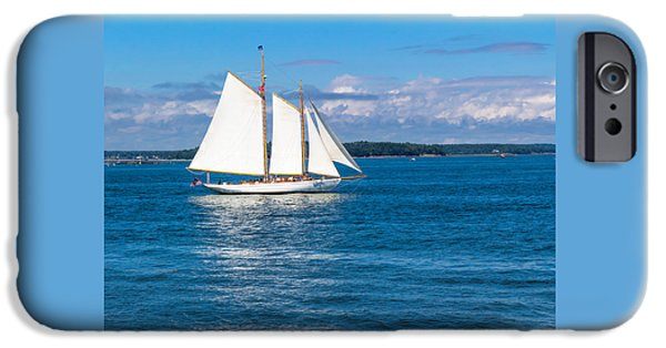 White Sails IPhone Case by Laurie Breton