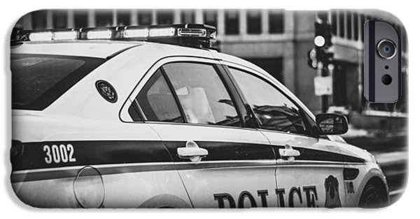 Whitehouse Police Cruiser IPhone Case by Mountain Dreams