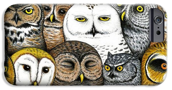Who's Hoo IPhone 6s Case by Don McMahon