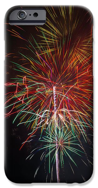 Wild Fireworks IPhone Case by Garry Gay