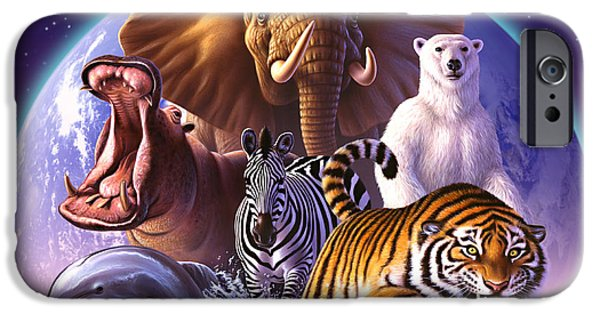 Wild World IPhone 6s Case by Jerry LoFaro