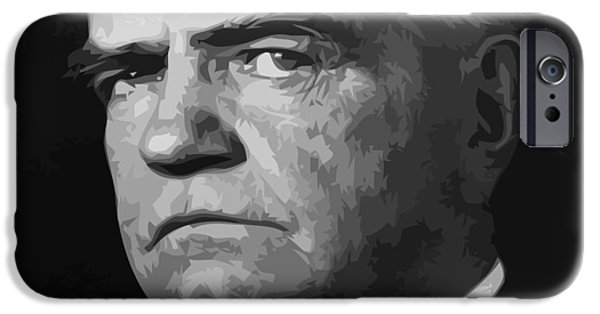 William Bull Halsey IPhone Case by War Is Hell Store