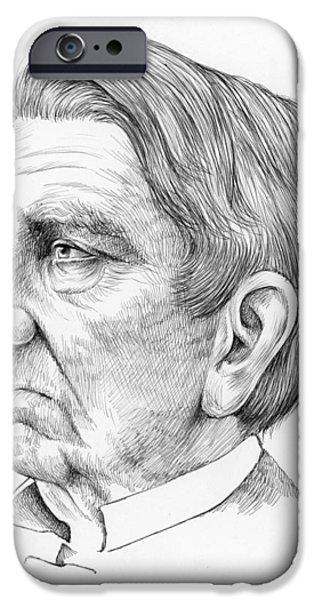 William Seward IPhone Case by Greg Joens