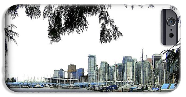 Window To The Harbor IPhone Case by Will Borden