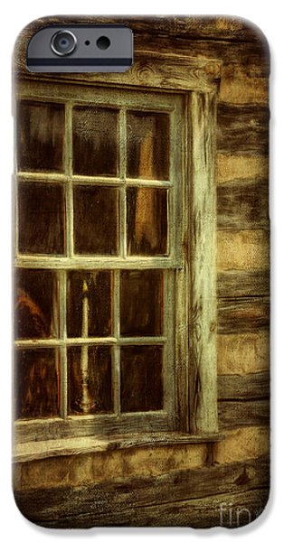 Window To The Past IPhone Case by Lois Bryan