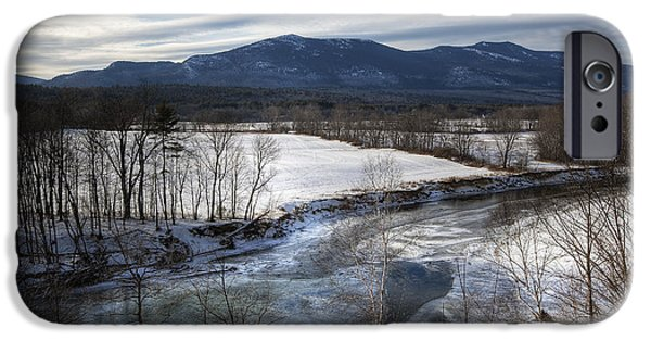Winter In North Conway IPhone Case by Eric Gendron