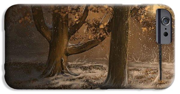 Winter Silence IPhone Case by Veronica Minozzi
