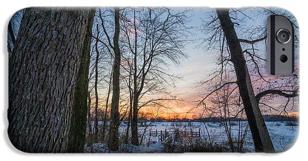 Winter Trails IPhone Case by Kristopher Schoenleber