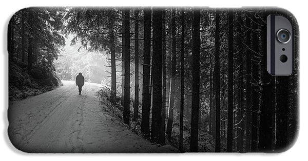 Winter Walk - Austria IPhone 6s Case by Mountain Dreams