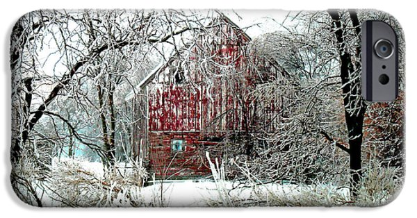 Winter Wonderland IPhone Case by Julie Hamilton