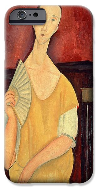 Woman With A Fan IPhone 6s Case by Amedeo Modigliani