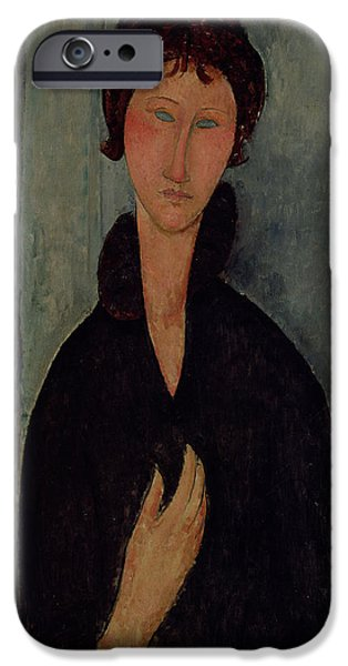 Woman With Blue Eyes IPhone 6s Case by Amedeo Modigliani