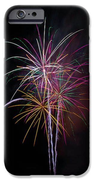 Wonderful Fireworks IPhone Case by Garry Gay
