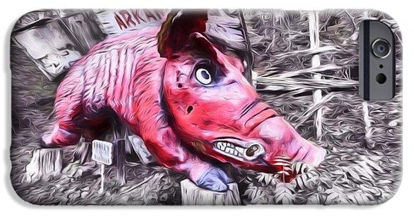 Woo Pig Sooie Digital IPhone 6s Case by JC Findley