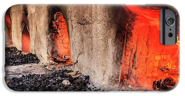 Wood Burning Ovens IPhone Case by Alexey Stiop