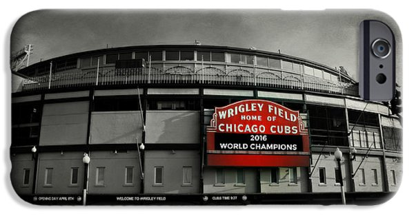 Wrigley Field IPhone 6s Case by Stephen Stookey