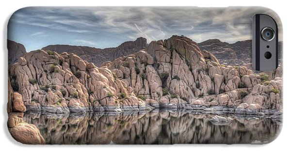 Wrinkled Reflections IPhone Case by Donna Kennedy