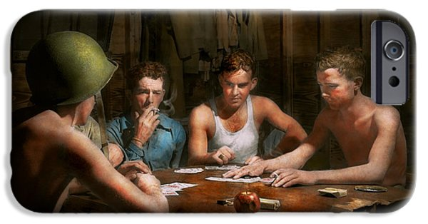 Wwii - The Card Game 1943 IPhone Case by Mike Savad