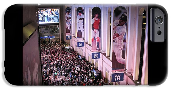 Yankee Stadium Great Hall 2009 World Series Color  IPhone Case by Terry DeLuco